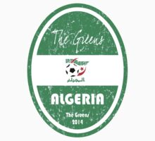World Cup Football - Algeria One Piece - Short Sleeve