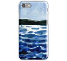 choppy lake iPhone Case/Skin