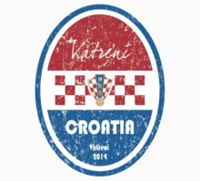 World Cup Football - Croatia Kids Tee
