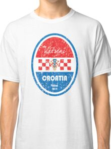 World Cup Football - Croatia Classic T-Shirt