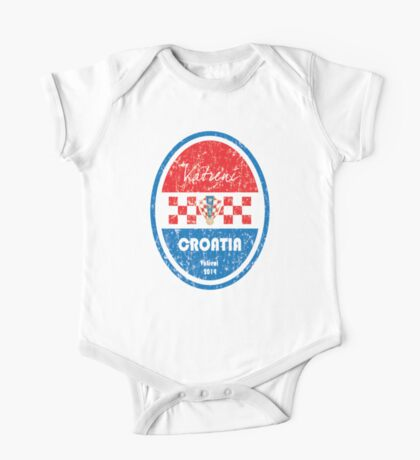 World Cup Football - Croatia One Piece - Short Sleeve