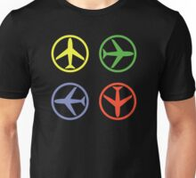 PEACE AIRPLANE Unisex T-Shirt