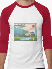 TakeMeToTheRiver07 Men's Baseball ¾ T-Shirt