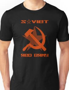 SOVIET RED ARMY HAMMER & SICKLE Unisex T-Shirt