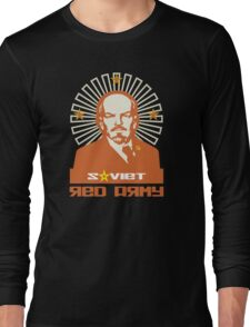 SOVIET RED ARMY LENIN Long Sleeve T-Shirt
