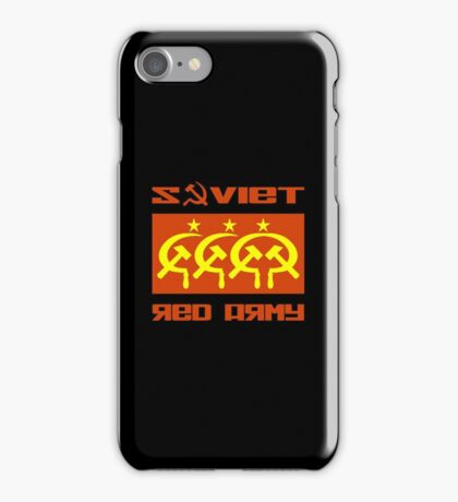 SOVIET RED ARMY CCCP iPhone Case/Skin
