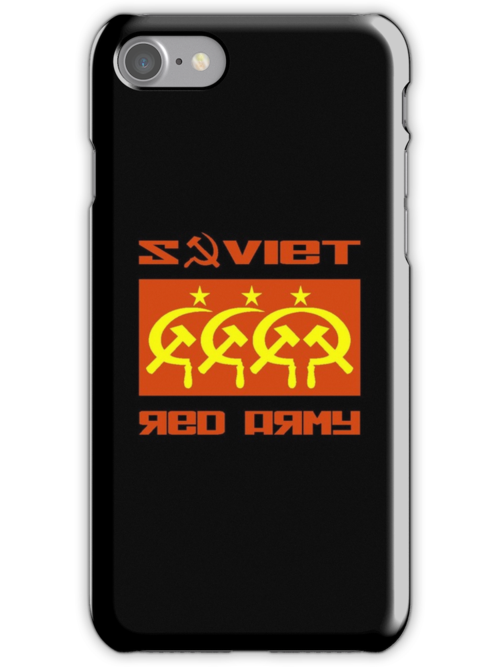 SOVIET RED ARMY CCCP by madeofthoughts