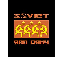 SOVIET RED ARMY CCCP Photographic Print