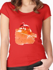 Axe Artwork Women's Fitted Scoop T-Shirt