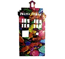 sweet tardis Photographic Print