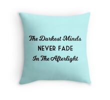 The Darkest Minds Trilogy Throw Pillow