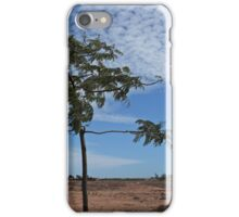 Lone Tree at Port Hedland iPhone Case/Skin