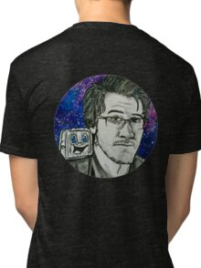 Markiplier And Tiny Box Tim Tri-blend T-Shirt
