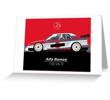 Alfa Romeo 155 V6 TI Greeting Card