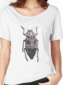 Capnodis Cariosa Isolated On White Women's Relaxed Fit T-Shirt