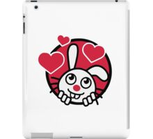 Funny Lovely Rabbit iPad Case/Skin