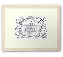 0913 - Mysterious Signs Framed Print