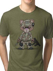 THE PAW (Tan) Tri-blend T-Shirt