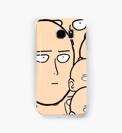 A lot... Of saitama's face Samsung Galaxy Case/Skin