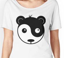 Hippie Panda bear Women's Relaxed Fit T-Shirt