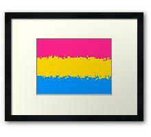 Pansexual Pride Flag Framed Print