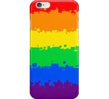 Gay Pride Flag- Retro iPhone Case/Skin