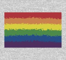 Gay Pride Flag- Retro by cadellin