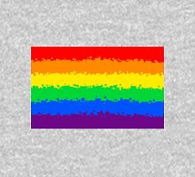 Gay Pride Flag- Retro Unisex T-Shirt