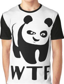 WTF Panda Graphic T-Shirt