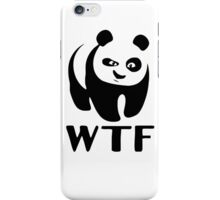 WTF Panda iPhone Case/Skin