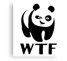 WTF Panda Canvas Print