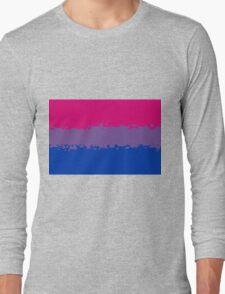 Bisexual Pride Flag Long Sleeve T-Shirt