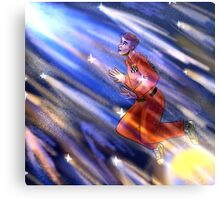 TRAVELING THROUGH THE COSMOS...!! Canvas Print