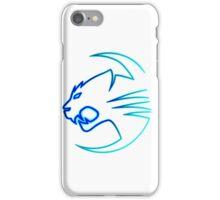 Lighting tiger iPhone Case/Skin