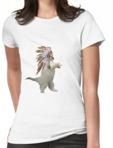 indian cat Womens Fitted T-Shirt