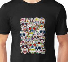 Sugar skull collage 2 Unisex T-Shirt