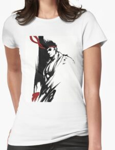 Ryu Stain style Womens Fitted T-Shirt