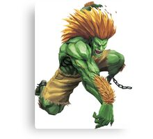 Blanka Street Fighter Canvas Print