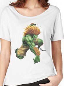 Blanka Street Fighter Women's Relaxed Fit T-Shirt