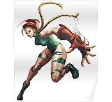 Cammy White Street Fighter Poster