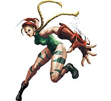 Cammy White Street Fighter Photographic Print