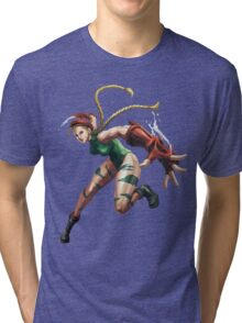 Cammy White Street Fighter Tri-blend T-Shirt