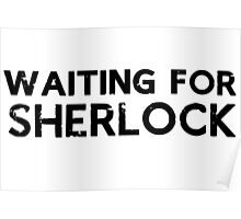 Waiting for Sherlock Poster