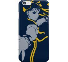Chun Lee street Fighter Blue Style iPhone Case/Skin