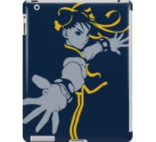 Chun Lee street Fighter Blue Style iPad Case/Skin