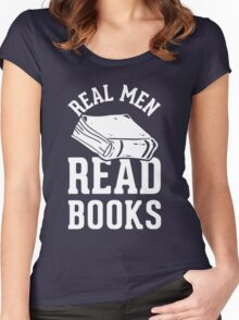 Real Men Read Books Women's Fitted Scoop T-Shirt