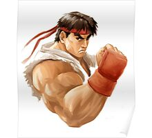 Ryu painting Poster