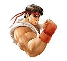 Ryu painting Photographic Print