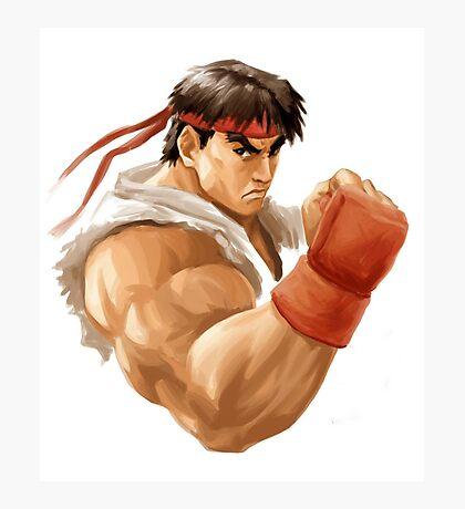 Ryu painting Photographic Print