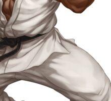 Ryu fight - Street Fighter Sticker